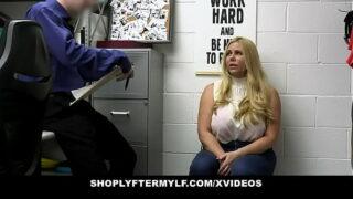 Busty Mature Slut Karen Fisher Punished For Stealing